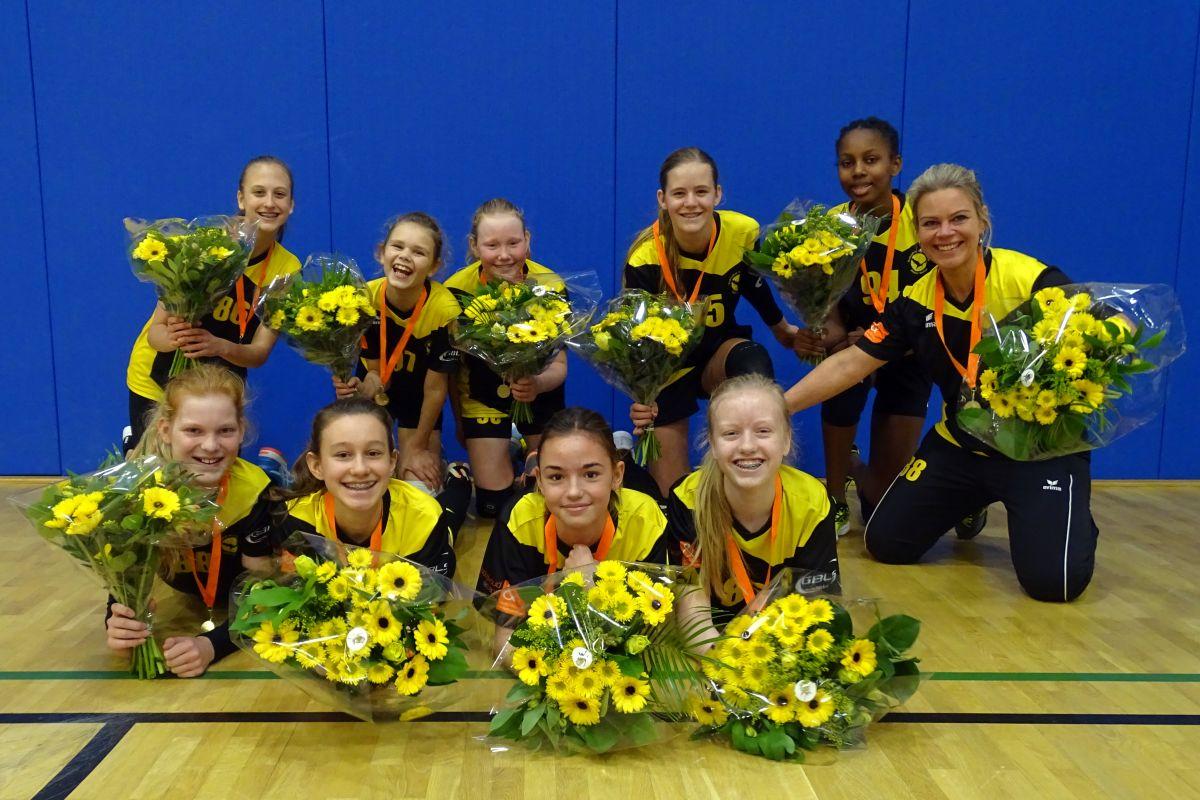Meisjes C1 Volleybal Kampioen