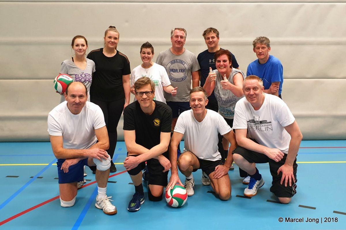 Recreanten volleybal groep 2
