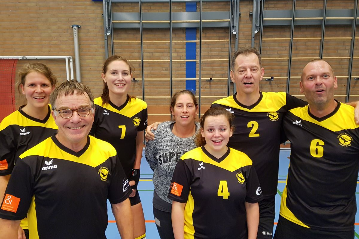 Recreanten volleybal mix team 3